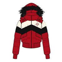 Оригинальная куртка Puma Lifestyle Hooded Down Jacket ribbon red