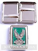 Чехол для фляги (Кожа) Герб Украины Б