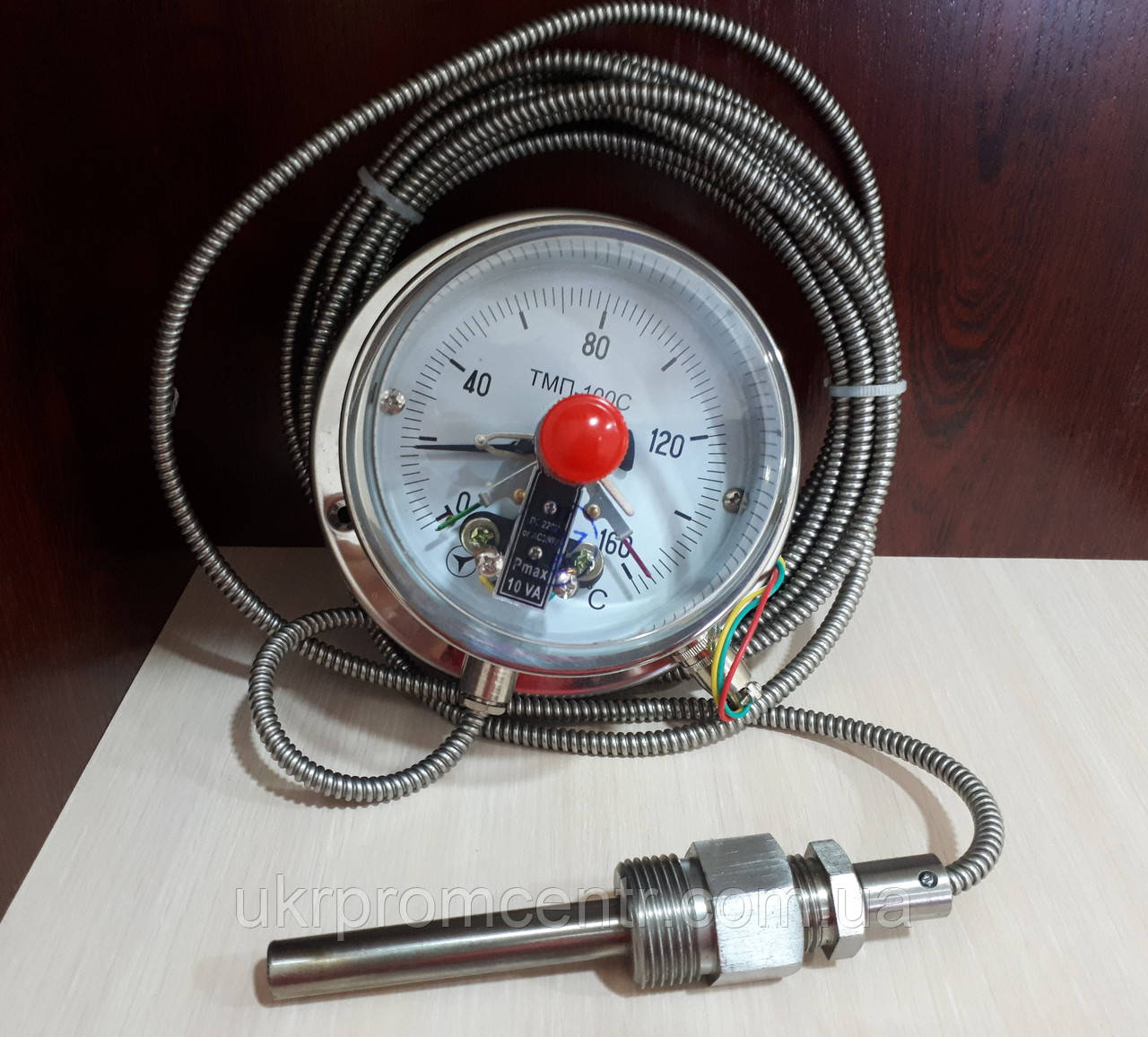 Термометр манометричний сигналізує ТМП-100С
