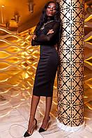 Женская черная юбка Торри Jadone Fashion 42-48 размеры