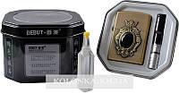 Подарочный набор 3в1 Зажигалка бензин мундштук №4374