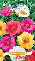 "Семена цветов Портулак махровая смесь, многолетнее 0,05г, "" Елітсортнасіння"",  серія ""З любов`ю"""