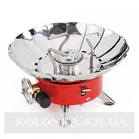 Портативная газовая плита с пьезоподжигом №203