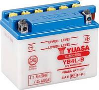 Аккумулятор МОТО Yuasa 12V 4,2Ah  YuMicron Battery YB4L-B (сухозаряженный)