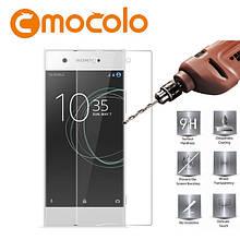 Защитное стекло Mocolo 2.5D 9H для Sony XA1 Plus