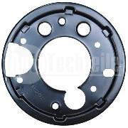 Защита заднего тормозного диска левая 408-416 Mercedes Benz Sprinter 904 9044231051