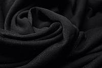 Трехнитка на флисе Черная