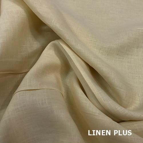 Світла лляна тканина 100% льон колір 606
