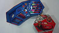 """Набор художника """"Тачки Cars"""",46предм.Детский набор для рисования """"Тачки Cars"""" в карт. чемодане-шестиграннике.Н"""