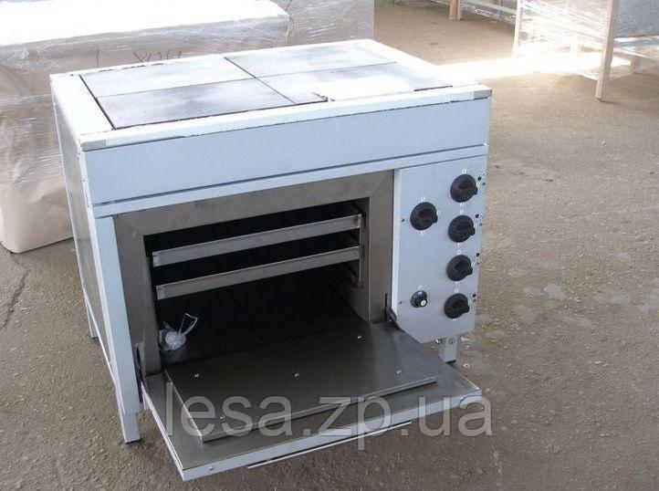Плита четырехконфорочная с духовкой ЭПК-4ШБ стандарт
