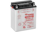 Аккумулятор МОТО Yuasa 12V 12,6Ah  YuMicron Battery  YB12AL-A2 (сухозаряженный)
