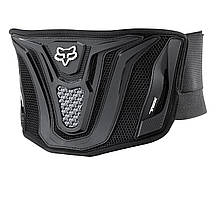 Мотопояс FOX Black Belt [Black/Grey] , One Size