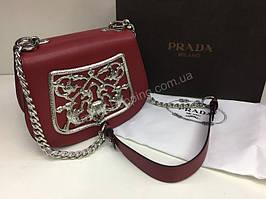 Оригинальная сумка Prada red 1479