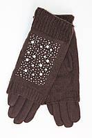 Оригинальные женские вязаные перчатки оптом и в розницу