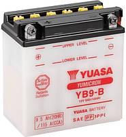 Аккумулятор МОТО Yuasa 12V 9,5Ah YuMicron Battery YB9-B (сухозаряженный)