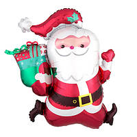 Шар воздушный фольгированный Дед Мороз 70 cm