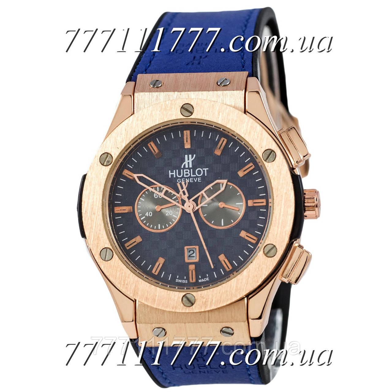 a77792551bd2 Часы мужские наручные Hublot 882888 Classic Fusion Blue-Gold-Blue гарантия