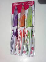 Набор кухонных ножей 3 штук, 25 см, металлокерамика