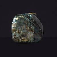 Лабрадор натуральный камень интерьерный сувенир 9х8х2,5см 0,555кг