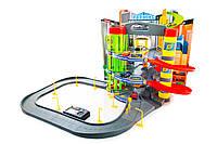 Игровой набор гараж-паркинг Mega Garage Kinderplay 6 автомобилей