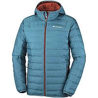 Columbia Lake 22 Down Insulated Water Resistant Hooded Jacket Blue