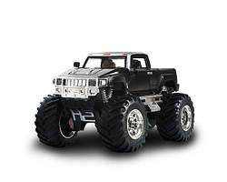 Полнофункциональный качественный джип микро р/у 1:43 Hummer черный и синий. Отличное качество. Код: КГ2387
