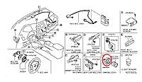 Nissan Leaf Іммобілайзер антени