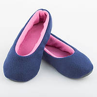 Тапочки балетки сине розовые размер 36-37_склад