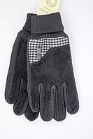 Женские замшевые перчатки на зиму высокого качества