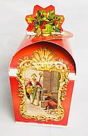 Картонная упаковка для конфет, Святой Николай, 11х11х18 см, 350-500 гр, фото 1