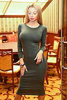 Женское силуэтное платье, фото 1