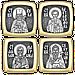 О ЗДРАВИИ. Православная бусина шарм, серебро, фото 3
