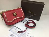 Шикарная сумочка Gucci из натуральной кожи 1461
