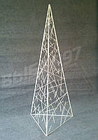 "Декор ""Пирамида"" 1,5м металлический"
