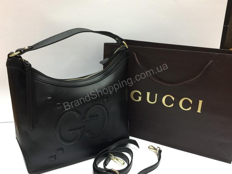 Стильная кожаная сумка Gucci 1468 - купить по лучшей цене в Украине ... 953e542303a