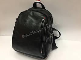 Модный кожаный рюкзак-сумка мужской/женский 1476