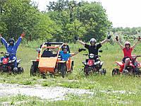 Катание на квадроциклах и багги в Одессе