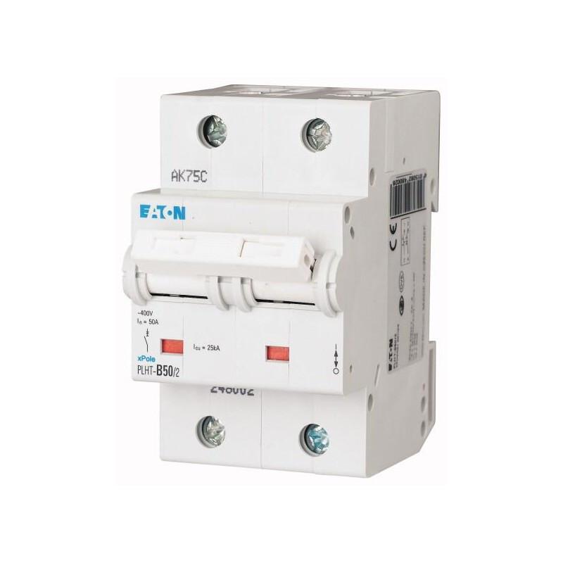 Автоматический выключатель PLHT-B50/2 (248002) Eaton 50A 2P 15kA