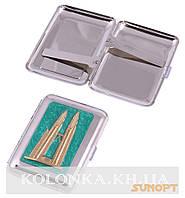 Портсигар на 18 сигарет Башни близнецы №2439-11