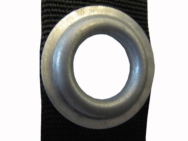 Установка люверсов 20 мм (сталь оцинкованная)