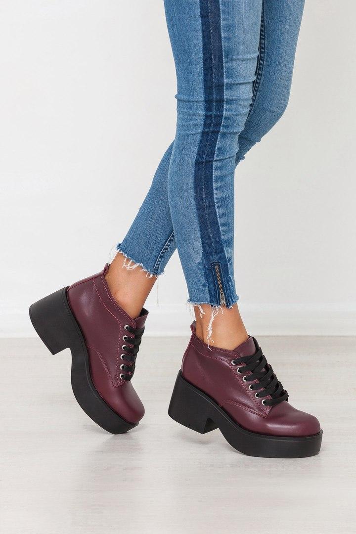 039058873 Осенние шикарные туфли на высокой платформе и каблуке!!! , купить в ...