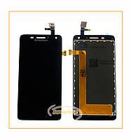 Дисплей (LCD) Lenovo S660 с сенсором Black Original
