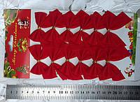 Декоративные красные бантики