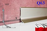 Алюминиевый плинтус Effector 40 мм