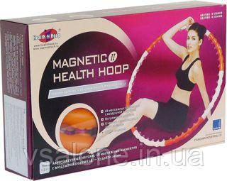 Обруч разборной массажный Magnetic Health Hoop II Хула Хуп 1,2кг