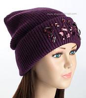 Вязаная шапка-колпак Альта