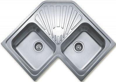 Мойка кухонная TEKA CLASSIC ANGULAR 2B полированная
