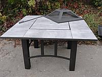 Садовый стол-барбекю 120см (1200x1200х650 мм), фото 1