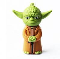 """Флешка-игрушка """"Звездные войны, Мастер Йода"""" 16 Гб"""