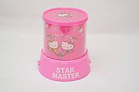 Проектор звездного неба Star Master Hello Kitty розовый